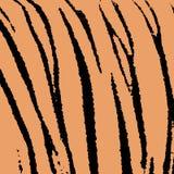 tiger skin pattern Stock Photo
