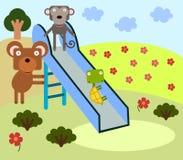 Animal slide Stock Photo