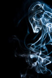 Animal in the smoke, ghosty. Royalty Free Stock Images