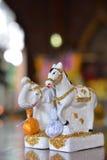 Animal statue spirit Royalty Free Stock Image