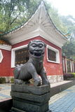 Animal statues, in China Royalty Free Stock Image