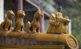 Animal Statues of Summer Palace Royalty Free Stock Images