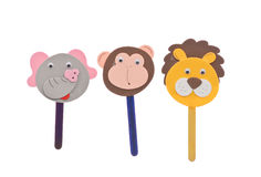Animal Stick Puppets Stock Photos
