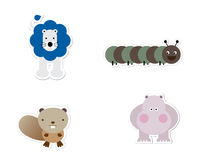 Animal Stickers Stock Photos