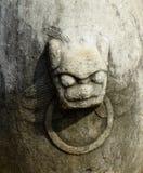 Animal stone carving Stock Image