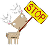 Animal stop Stock Photography