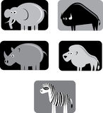 Animal symbols Stock Images