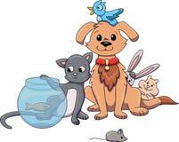 Animal-tienda stock de ilustración