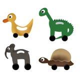Animal toys Royalty Free Stock Photography