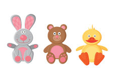 Animal toys Royalty Free Stock Photo