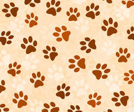 Animal tracks background Stock Photo
