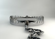 Animal Trap Open Royalty Free Stock Photo