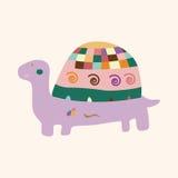 Animal turtle cartoon theme elements vector,eps. Vector illustration file Royalty Free Stock Photos