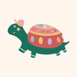 Animal turtle cartoon theme elements vector,eps Stock Images