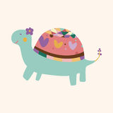 Animal turtle cartoon theme elements vector,eps. Vector illustration file Stock Images