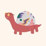 Animal turtle cartoon theme elements vector,eps. Vector illustration file Royalty Free Stock Image