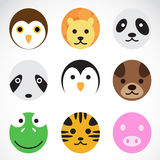 Animal vector icons Royalty Free Stock Image