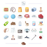 Animal, veterinarian, cleaning and other web icon in black style.  Stock Photo