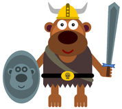 Animal viking Stock Photography