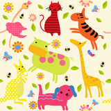 Animal wallpaper Royalty Free Stock Photography