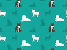 Cat Wallpaper 18 Stock Image