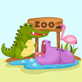 Animal zoo vector. Illustration of animal zoo vector Vector Illustration