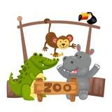 Animal zoo vector Royalty Free Stock Photo