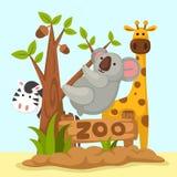 Animal zoo vector Stock Photo