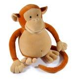 Animale del giocattolo della scimmia Immagine Stock