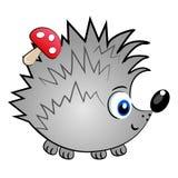 Animale di character.cute isolato istrice   illustrazione vettoriale