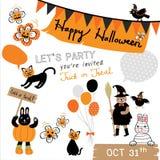 Animale di Halloween Immagini Stock