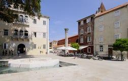 Animale domestico quadrato bunara Dalmazia zadar Croazia Europa Fotografia Stock Libera da Diritti