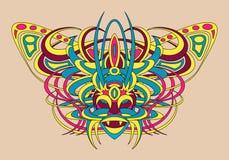 Animale fantastico del demone della divinità della creatura Immagini Stock Libere da Diritti