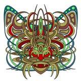 Animale fantastico del demone della divinità della creatura Fotografie Stock Libere da Diritti