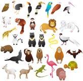 animale nello zoo illustrazione vettoriale