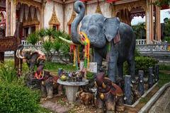 Animale sacro della Tailandia Fotografia Stock