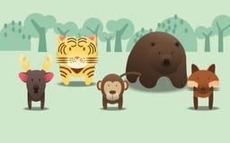 Animale selvatico Immagini Stock Libere da Diritti
