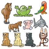 Animales 2 del vector Fotos de archivo libres de regalías