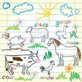 Animales Imagen de archivo