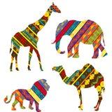 Animales africanos Imagenes de archivo