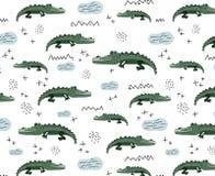 Animales africanos de la historieta del vector stock de ilustración