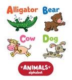 Animales alfabeto o ABC Fotografía de archivo libre de regalías