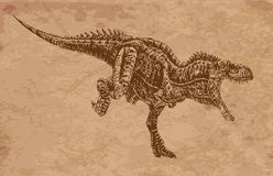 Animales antiguos Fotografía de archivo