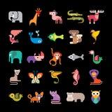 Animales de la selva Fotografía de archivo