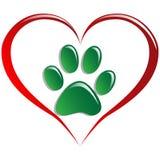 Animales del amor stock de ilustración