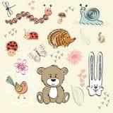 Animales del bebé Imagen de archivo