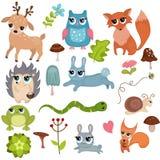Animales del bosque Foto de archivo libre de regalías