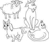 Animales del campo Imagen de archivo libre de regalías