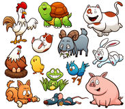 Animales del campo libre illustration