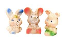 Animales del juguete imagen de archivo libre de regalías